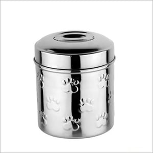 JSI325 Dog And Pet Food Canister Embossed