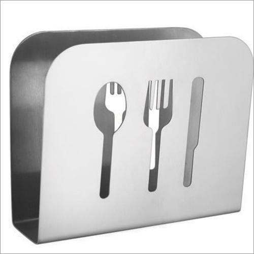 Steel Cutlery Punch Napkin Holder