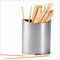Steel Toothpick Holder Oval