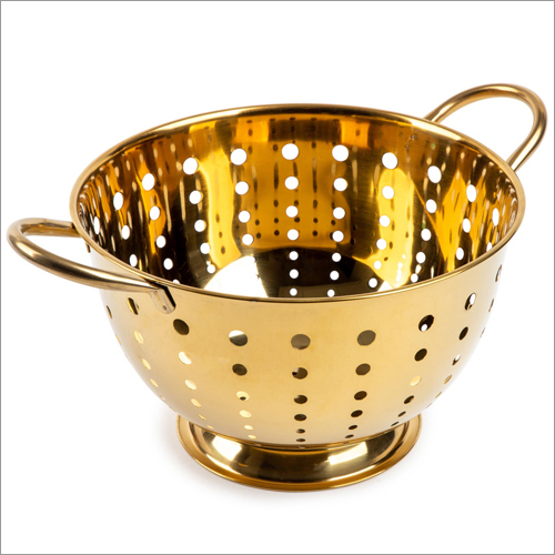 JSI 2201 High Carbon PVD Coated Steel Colanders