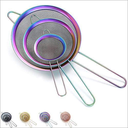 JSI 2204 Titanium PVD Color Coated Tea Strainers