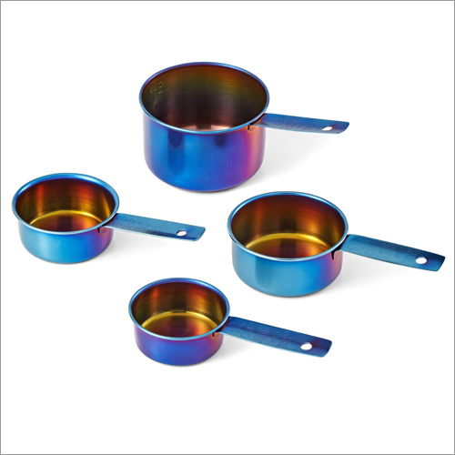 JSI 2225 Titanium PVD Coated Measuring Spoons And Cups