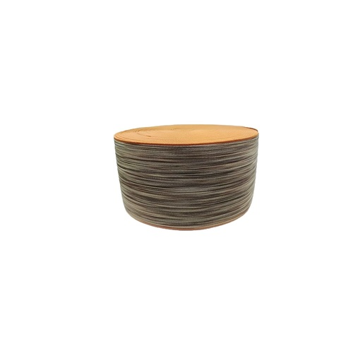 90 mm Shoe Elastic SS-1471 COMP. DYED BROWN BEIGE