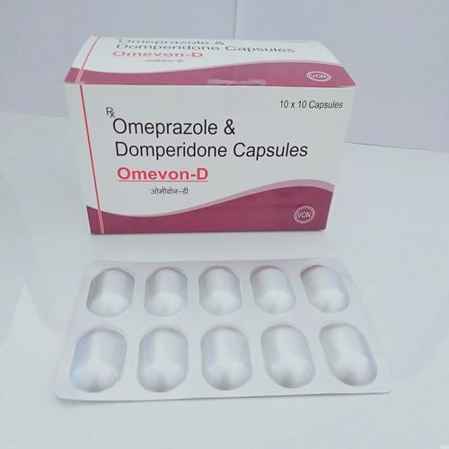 OMEPRAZOLE & DOMPERIDONE CAP.