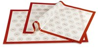 PAVONI Nonstick Commercial Silicone Mat Macrons 600 x 400 mm SPV64 MACRONS