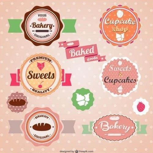 Printed Bakery Labels