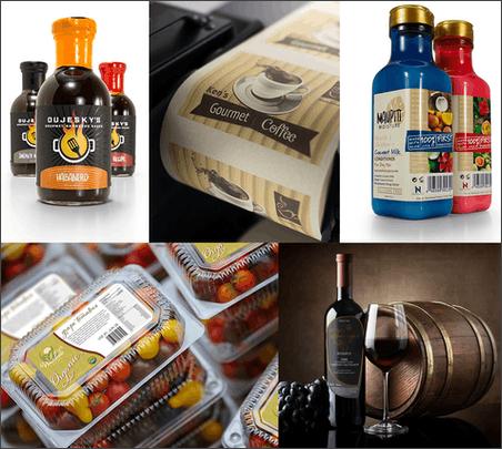 Food Print Food Product Labels