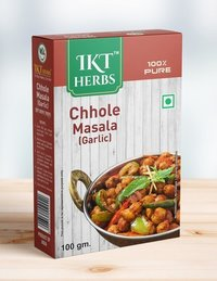 Chhole Masala Garlic