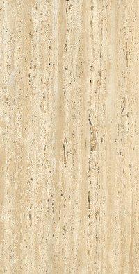 Travertino Beige 600x1200mm Glossy Porcelain Tiles
