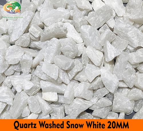 Snow White Quartz Grits