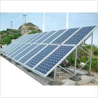 Rectangular Solar Panel Mounting Structure