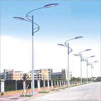 Dual Arm Decorative Lighting Pole