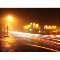 High Pressure Sodium Street Lights