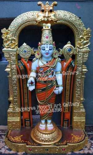 Marble Tirupati Balaji Moorti