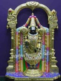 Black Marble Tirupati Balaji Moorti