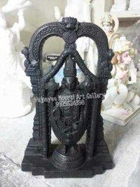 Black Tirupati Balaji Statue