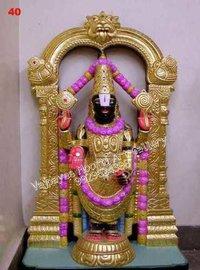 Black Tirupati Balaji Moorti