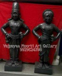 Vitthal Rukmani Statue