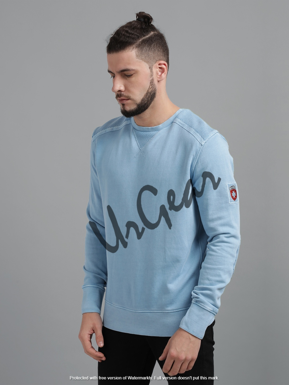 Mens Round Neck Sweatshirt