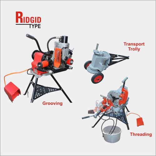 Multi-Universal Electric Pipe Grooving & Threading Machine