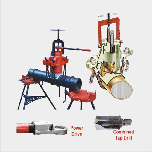 Online Under Pressure Drilling And Tapping Machine