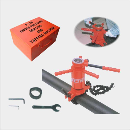 Under Pressure Drilling And Tapping Machine