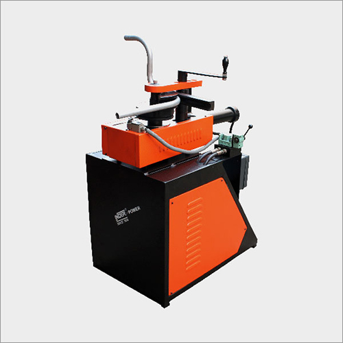 HYDRAULIC MOTORISED COMPACT PIPE BENDER WITH DOUBLE FRAME OPEN BENDING