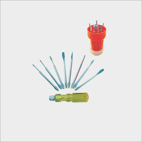 SCREW DRIVER KIT (with Neon Bulb & extra extensions)