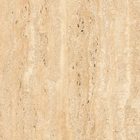 REAL TRAVERTINO BEIGE 600X600mm GLOSSY PORCELAIN TILE