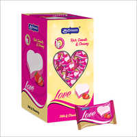 Love Milk And Chocolate Candy