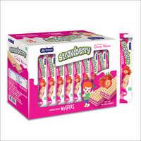 Strawberry Delicious Creamy Wafers