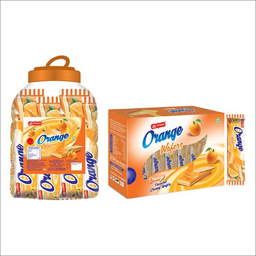 Orange Flavoured Creamy Wafers