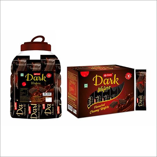 Dark Flavoured Creamy Wafers