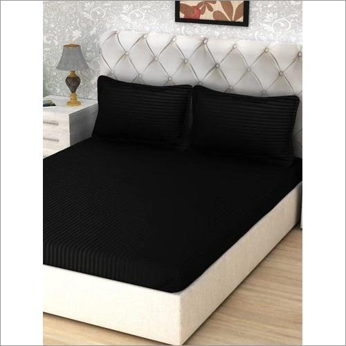 Satin Stripes Cotton Bedsheet