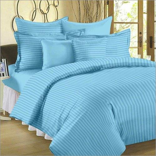Multi ColorSatin Stripes Bedsheet