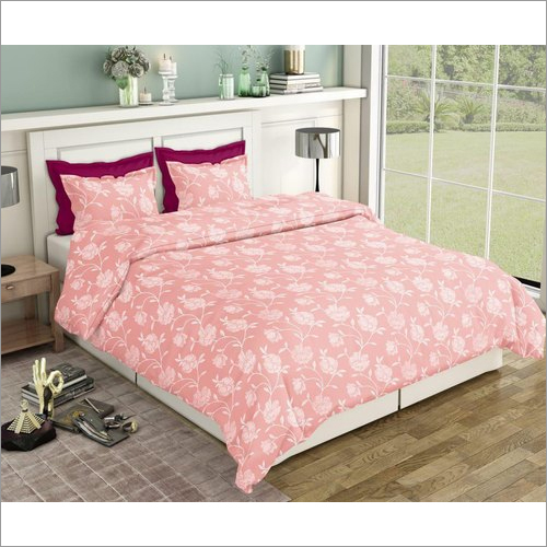 Pure Cotton Printed Double Bed Sheet