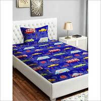 Microfiber Kids Printed Designer Bed Sheet