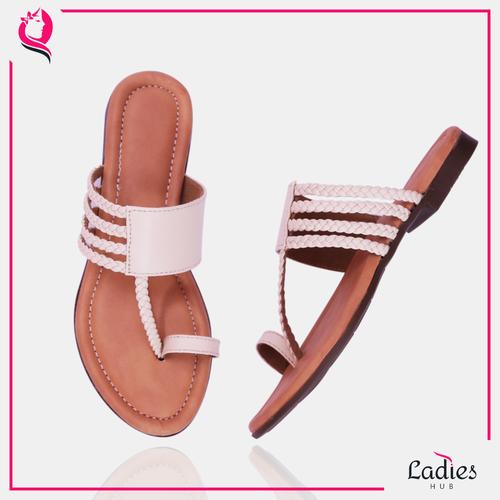 Ladies Hub Braided Flat Fancy Ladies Slippers