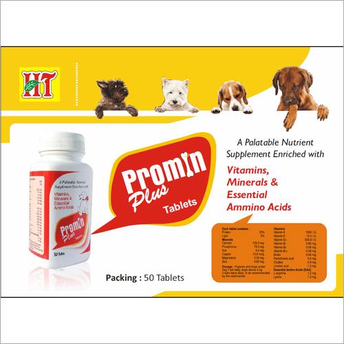 Multivitamin Tablet For Pets