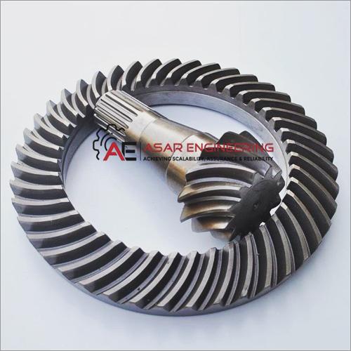 Stainless Steel Spiral Bevel Gear