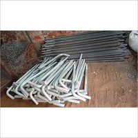 Hot Dip Galvanized L Type Foundation Bolts
