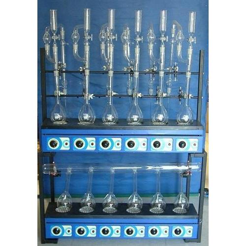 Kjeldahl Digestion Unit & Distillation Unit ( Combined)