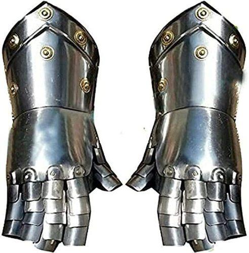 Medieval Armour Gauntlet Steel Larp Sca