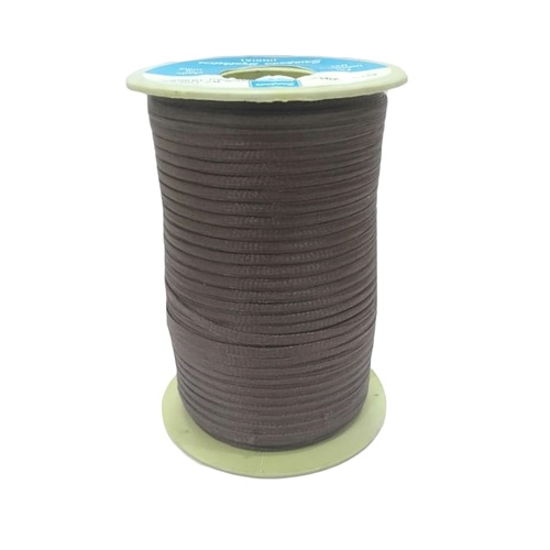 Braided Tapes SS-F24 HT BROWN 2 MM FLAT TAPE