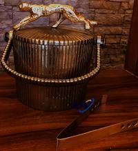Gold Head Ice Bucket