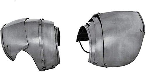 Medieval Milanese Shoulders Guard Halloween Costume Steel Pauldrons