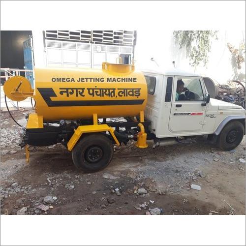 Semi Automatic Sewer Jetting Machine
