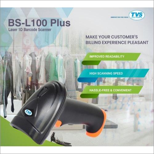 TVS Electronics BS-L100 Plus Laser Handheld Barcode Scanner