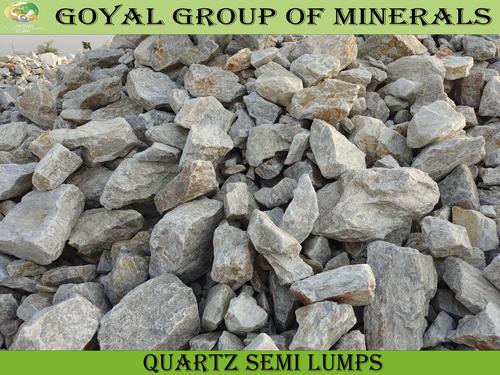 Quartz Lumps Semi