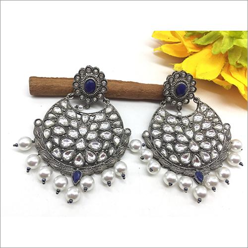 Ladies Oxidized Fancy Earrings
